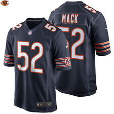 NEW 2018 NFL Khalil Mack Nike Game Jersey Chicago Bears Official #52 Football