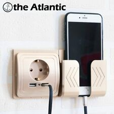 Dual USB Socket Power Outlet Socket With EU Plug 2A Wall Charger Adapter