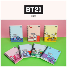 BTS BT21 Official Merchandise - Stationery Schooling Spring NOTE PP Cover