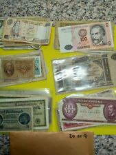 Foreign Banknotes Job Lot interesting large lot