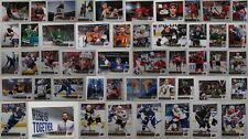 2018-19 Upper Deck Series 1 +2 Canvas Hockey Cards Complete Your Set Pick List