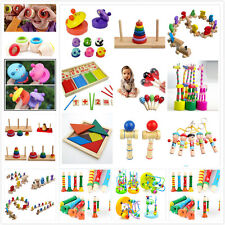 Wooden Toy Baby Kid Children Intellectual Developmental Educational Cute Toys Nq
