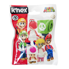 New 1 3 5 10 Or 24 K'nex Super Mario Series 10 Mystery Blind Bag Figure Official