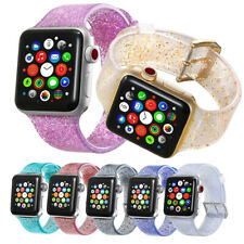 Sports Band Strap Glitter Bracelet for Apple Watch iWatch Series 1/2/3/4 38/42mm