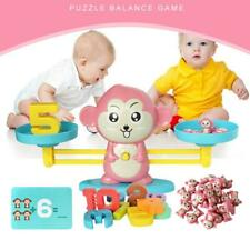 Kids Math  Monkey Balance Game Scale Early Learning Toy