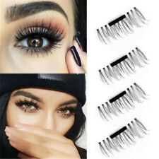 3D Magnetic False Eyelashes 1 pair No Glue Handmade Natural Extension Eye Lashes