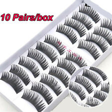 Long Thick 3D Faux Mink Hair Wispy Fluffy  False Eyelashes Eye Lashes Extension