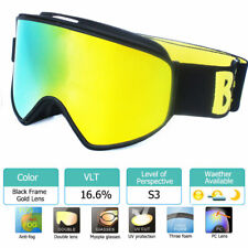 Ski Goggles 2 in 1 with Magnetic Dual-use Lens for Night Skiing Snowboard Goggle