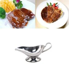 Stainless Steel Gravy Boat Steak Pepper Sauce Pourer Juice Pouring Tool H