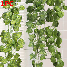 Hanging Foliage Flowers  Vine Artificial Ivy Leaves Garland Plants Fake Foliage