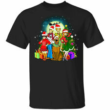 Scooby-doo Family Christmas Mens Womens Cotton T-shirt size S-3XL