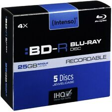 Artikelbild Intenso Blu-Ray Disc Intenso BD-R 4x (25GB) 5 JewelCase BluRay Record