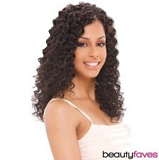 """QUE DEEP WEAVE 10"""" 12"""" 14"""" BY MILKYWAY HUMAN HAIR MASTERMIX WAVY STYLE"""