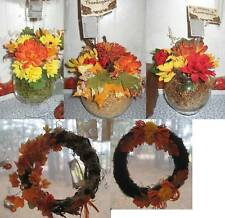 FALL/THANKSGIVING Wreath or Centerpiece, CLEARANCE-SALE