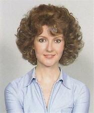 Short Curly Light Brown Gypsy Page Wig w/ Bangs, Wigs