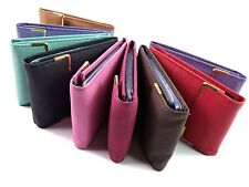 Mens Ladies High Quality Real Leather Credit Card Holder Purse Pouch Wallet