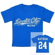 LEICESTER CITY Football Personalised Boys/Girls T-Shirt