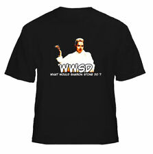 WWSD What Would Sharon Stone Do Basic Instinct t shirt
