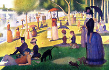 Seurat Sunday afternoon La Grande Island -Giclee Canvas