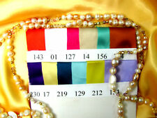 SATIN VICTORIA  MANY COLORS FABRIC BTY