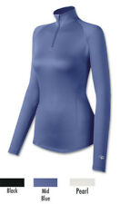 Duofold Varitherm Womens Thermal Zip Mock Top 471D