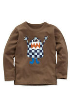 Boden boys applique monster top, NEW, all ages
