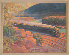 The 20th Century Limited, New York Central 1920 Poster