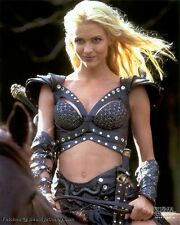 Rare Hudson Leick's Callisto Costume from Xena Warrior Princes Black Leather