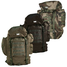 SAC A DOS 65L MILITAIRE SECURITE CAMOUFLAGE PAINTBALL AIRSOFT BAGAGERIE TREKKING