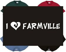 Shirt/Tank - I Love Farmville - farming gaming internet