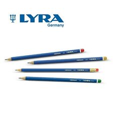 12 x LYRA ARTIST SKETCHING DRAWING PENCILS BOXED - 11 Grades Available