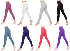 Cotton Leggings Full Length All Sizes & Colours