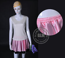 Lovely Full Circle Satin Skirt Mini Skirt XS ~ 3XL #GF0621T