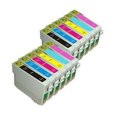 12 Compatible Ink Cartridges for Stylus Photo Printers - Full Set