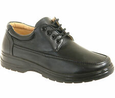 New in Box - Mens Black Comfort Shoes Size 6 7 8 9 10 11 12
