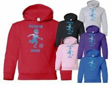 Football School Sport Boys Girls Kids Hoodie  Age 5-13