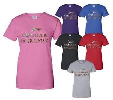 Cougar In Training Funny Ladies T Shirt Gift Size S-XXL