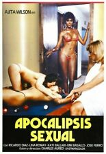 APOCALIPSIS SEXUAL 01 VINTAGE B-MOVIE REPRODUCTION ART PRINT A4 A3 A2 A1