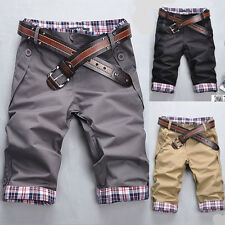Men's hot sell summer modern style casual shorts pants E606 3color 4size