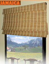 Bamboo Roman Shade Window Blinds. 2 Sizes Available.  #67-150/ 67-156
