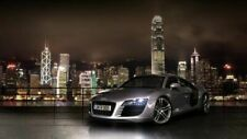 Audi R8 Sports Car CARS0044 Art Print Poster A4 A3 A2 A1