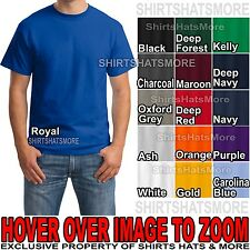 Hanes Beefy-T 6.1 oz. Cotton T-Shirt 5180 S-XL BEST SELLING COLORS New Beefy Tee