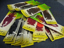 """4"""" Mister Twister Phenom Fishing Lure Worms, Jigs, Bass Rigs, 7 Per Pack"""