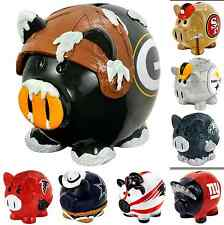 NFL Football Thematic Piggy Bank Small - Pick your team - Kids New