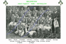 IRELAND 1934 (v England, 10th February) RUGBY TEAM PHOTOGRAPH
