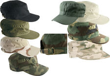 HELIKON BDU PATROL US COMBAT ARMY RIPSTOP BASEBALL FIELD CAP HAT CAMOUFLAGE CAMO