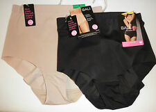 NWT $32 Bali Smooth it Out Brief Panty 8400 - Black or Nude: Sizes  M L XL XX