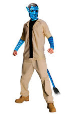 Avatar Jake Sully Adult Men's Halloween Costume Movie Jacket Pants Mask 889805