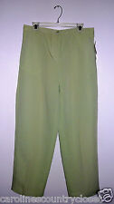 ALLYSON WHITMORE PANTS~Flat Front~Colors & Miss Sizes Vary~NWT~FREE SHIP