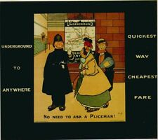 London Underground - Police Man 1908 LU001 Art Print Poster A4 A3 A2 A1